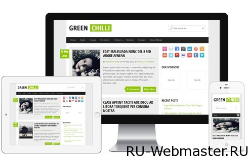 GreenChilli WordPerss Theme 13 шаблонов Wordpress от компании mythemeshop.com